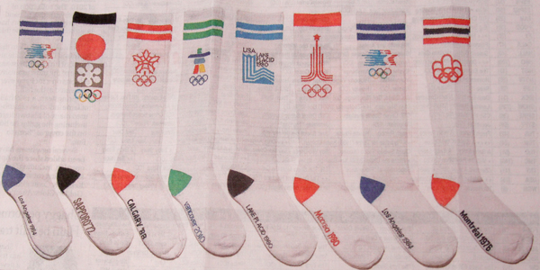 olympic socks